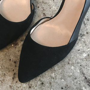 Cole Haan Leather and Suede Pumps